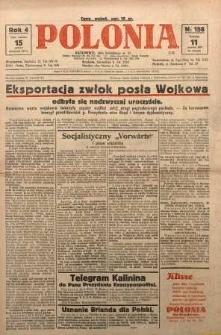 Polonia, 1927, R. 4, nr 158