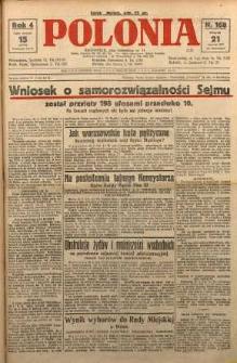 Polonia, 1927, R. 4, nr 168