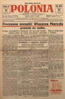 Polonia, 1927, R. 4, nr 174