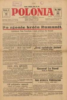 Polonia, 1927, R. 4, nr 199