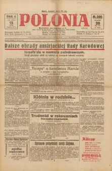 Polonia, 1927, R. 4, nr 205