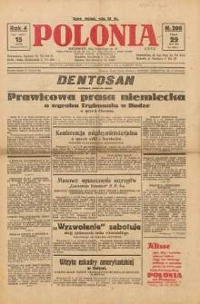 Polonia, 1927, R. 4, nr 206