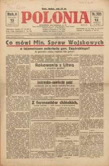 Polonia, 1927, R. 4, nr 221
