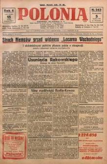 Polonia, 1927, R. 4, nr 243