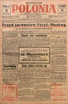Polonia, 1927, R. 4, nr 250