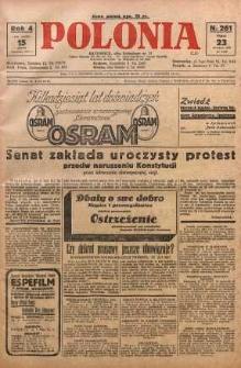Polonia, 1927, R. 4, nr 261