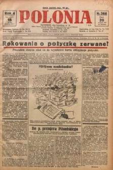 Polonia, 1927, R. 4, nr 268