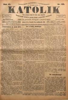 Katolik, 1909, R. 42, nr 129
