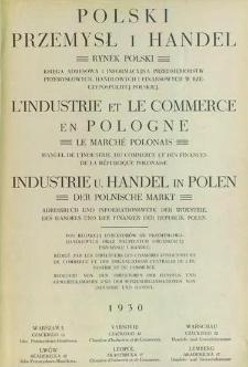 Polski przemysł i handel