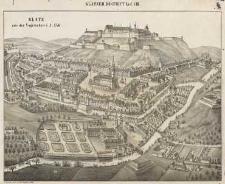 Glatz aus Vogelschau i. J. 1737