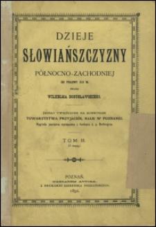 Dzieje Słowiańszczyzny północno-zachodniej do połowy XIII w. T. 3