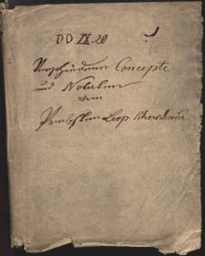 Notatki Leopolda Jana Szersznika do prac naukowych i zajęć szkolnych