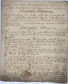 Quadrantem Horographicum delineare, et ejus ope [!] omnis generis horologia plana describere