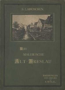 Das Malerische Alt-Breslau-okładka