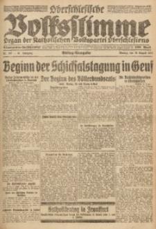 Oberschlesische Volksstimme, 1921, Jg. 47, Nr. 287