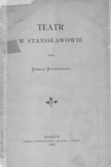 Teatr w Stanisławowie