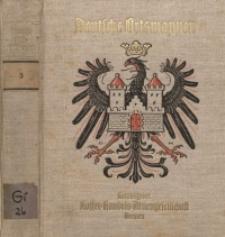 Deutsche Ortswappen. 3, [Freistaat Bayern, Freistaat Sachsen]