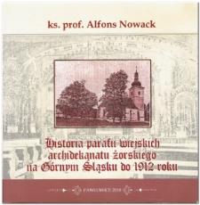 Historia parafii wiejskich archidekanatu żorskiego na Górnym Śląsku do 1912 roku
