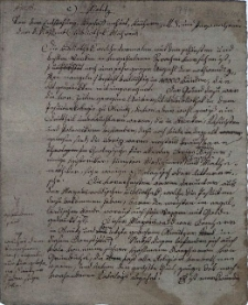 Notitz von der Entstehung, Beschaffenheit, Büchern, M.S. [Manuskripten] und Personalstand der k.k. öffentl. Bibliothek Mährens