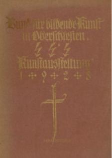 Jahresausstellung 1928 des Bundes für bildende Kunst in Oberschlesien