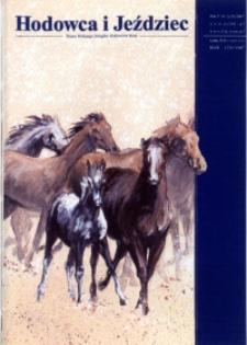 Hodowca i Jeździec, 2007, R. 5, nr 1 (12)
