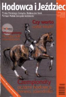Hodowca i Jeździec, 2010, R. 8, nr 3 (26)