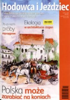 Hodowca i Jeździec, 2011, R. 9, nr 3 (30)