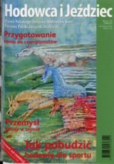 Hodowca i Jeździec, 2013, R. 11, nr 2 (37)