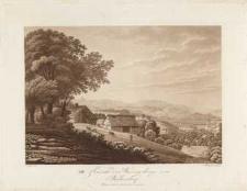 Ansicht des Riesengebirgs von Berbisdorf