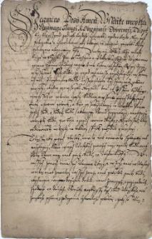 Czeski przekład przywileju księcia cieszyńskiego Bolka I dla miasta Cieszyna z 28.02.1416 r.