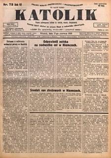Katolik, 1930, R. 63, nr72