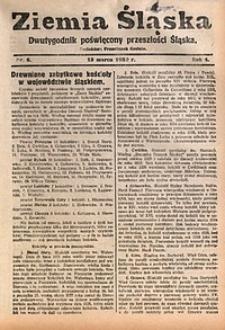 Ziemia Śląska, 1930, R. 4, nr5