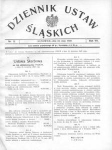 Dziennik Ustaw Śląskich, 23.05.1928, R. 7, nr 13