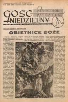 Gość Niedzielny, 1953, R. 26, nr 34