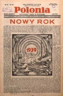 Polonia, 1939, R. 16, nr 5103