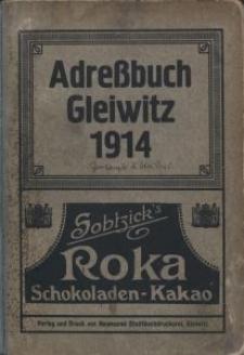 Adreßbuch Gleiwitz 1914