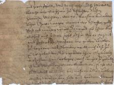 Pisma do magistratu miasta Cieszyna z 16 i 17 w.