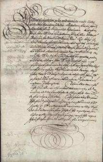 Korespondencja prywatna i urzędowa księżnej cieszyńskiej Elżbiety Lukrecji z lat 1625-1640