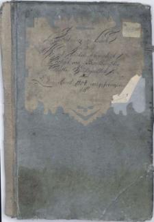 Conferenz-Buch bei dem Hoch-Reichsfreyherrlich Joseph von Baillowischen Guthe Hustopetsch vom Ersten April 1804 angefangen bis...