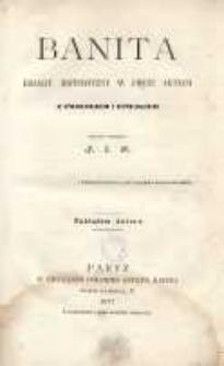 Banita. Dramat historyczny w pięciu aktach z prologiem i epilogiem