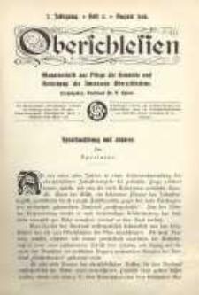 Oberschlesien, 1908, Jg. 7, H. 5