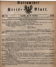 Kattowitzer Kreisblatt, 1876, nr51