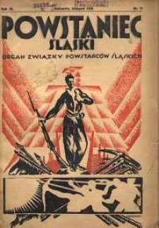 Powstaniec Śląski, 1935, R. 9, nr 11