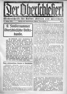 Der Oberschlesier, 1921, R. 3, nr 4