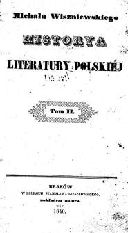 Historya literatury polskiej. T.2