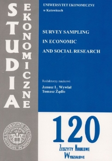 Survey sampling in economic and social research