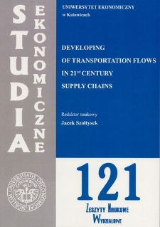 Developing of transportation flows in 21 st century supply chains