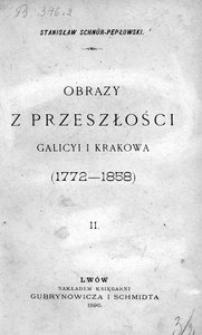 Obrazy z przeszłości Galicyi i Krakowa (1772-1858). [Cz. 2]. Dziatwa Apollina