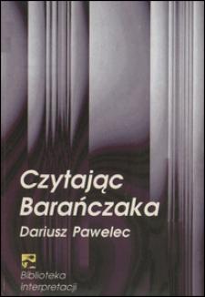 Czytając Barańczaka