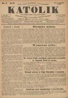 Katolik, 1927, R. 60, nr3